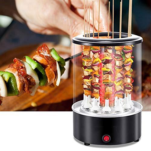 Rotierende vertikale Rotisserie, BBQ-Maschine, 360 ° -Drehung,