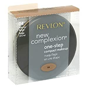 Revlon New Complexion One-Step Compact Makeup - 04 Natural Beige by Revlon (English Manual)