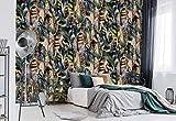 Die Moderne Tropische Muster Fototapete ist Teil die Tropisch Kollection und eine einfache und schnelle Art, jede Wand völlig zu verwandeln! Mit jeder Bestellung erhalten Sie eine vollständige Aufbauanleitung und einen Spezialkleister ko...