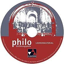 philo NRW Einführungsphase Lehrermaterial: Unterrichtswerk für Philosophie in der Sekundarstufe II. CD-ROM zu Einführungsphase
