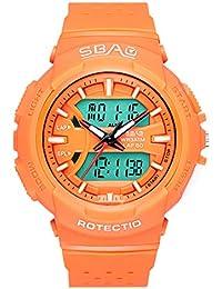 53543933405c DAYLIN Reloj Digital Niños Niñas Resistente Agua Relojes Chico Chica Joven  Deportivo Reloj Pulsera Electrónico Analogico