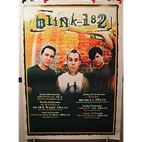 Blink 182-100 x Poster mostra/140 cm