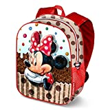 Karactermania Minnie Mouse Muffin Sac à Dos Enfants, 39 cm, Marron (Marrón)