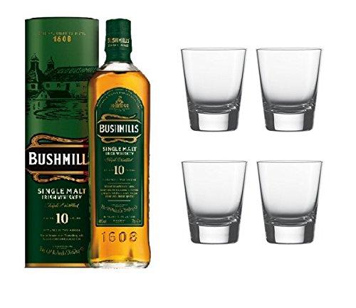 bushmills-10-jahre-single-malt-irish-whiskey-40-07l-flasche-4-hochwertige-whisky-tumblers