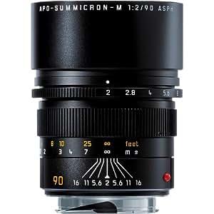 Leica Apo-Summicron-M 90 mm f/2 Noir - Lentilles et filtres d'appareil Photo (5/5, 1 m, 9,09 cm, 1:9, 23°, 15°)