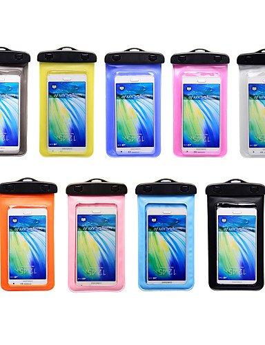 ZQ Outdoor Universal Armband Wasserdichte Tasche Fall (verschiedene Farben) Orange - orange