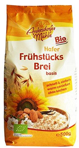 Bio-rosinen Kleie (Antersdorfer Mühle Hafer Frühstücksbrei, 3er Pack (3 x 500 g) - Bio)