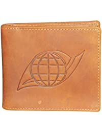 Style98 Premium Leather Unisex Slim Money Clip Wallet||Small Wallet - (Tan)