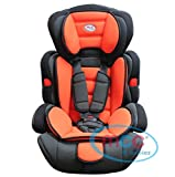Mcc 3in1 Convertible Baby Child Car Safety Booster Seat Group 1/2/3 9-36 kg [PINK* GREY* ORANGE* RED* BLUE* SPOTTED* LEOPARD*] (Orange)