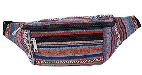 Riñonera, bolsa de cadera 3 bolsillos (Color 1)