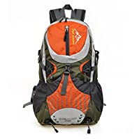 Skysper- 30L Outdoor Biking Backpack Travel Backpack Biking Bag Orange