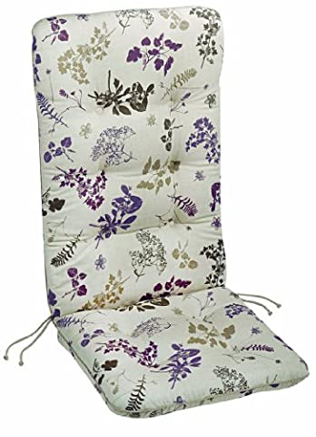 Best 05101151 Dessin 1151 Coussin pour fauteuil à dossier bas 100 x 50 x 9 cm