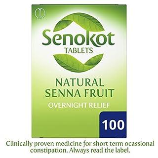 Senokot Senna Fruit Overnight Relief, 100 Tablets