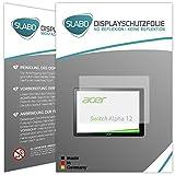 Slabo 2 x Protector de Pantalla Acer Switch Alpha 12 lámina...