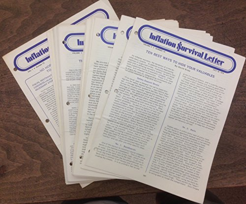 Inflation Survival Letter. Volume 1#12 through v. 1#26; Volume 2#1-12, 14 (June 17, 1974 - July 16, 1975)