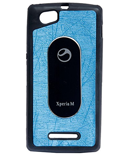 iCandy™ Soft Leather Finish Back Cover for Sony Xperia M C1904 - Turquoise