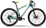Haibike Life 7.80 27, 5 Zoll Mountainbike Damen Blau/Gelb/Weiß (2016), 50