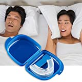 #4: New trends Mouth Guard Stop Teeth Grinding Anti Snoring Bruxism With Case Box