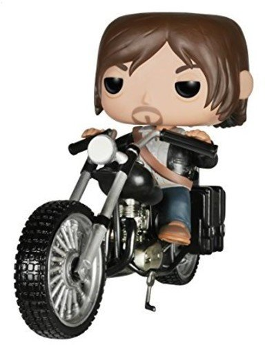 The Walking Dead Daryl Dixons Chopper Pop! Figur -