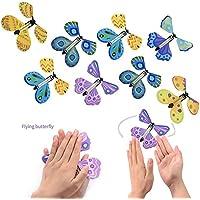 Zauberartikel & -tricks Spielen Schmetterlingsspielzeug Schmetterling Spielzeug Requisiten Aufziehen