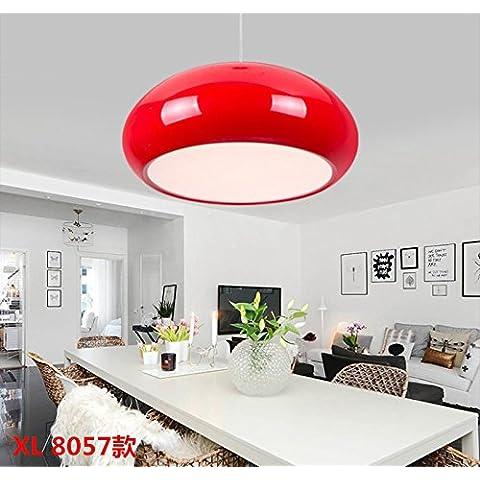 Moderno e minimalista lampadari appesi personalità artistiche , piccolo round top) , rosso
