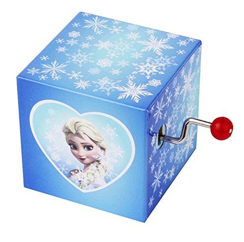 Trousselier Manivelle Musicale Elsa - La Reine des Neiges