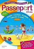 Passeport 3/4 ans : De la Petite Section à la Moyenne Section, avec plein d'autocollants !