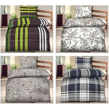 155x220 bettw sche biber standard 4 tlg set in verschiedenen designs 155x220 bettbezug mit. Black Bedroom Furniture Sets. Home Design Ideas