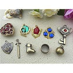 The Legend of Zelda Crepuscule Princesse & ‿Hylian Shield & ‿Master Sword Ensemble de bijoux