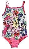Mädchen My Little Pony MLP Badeanzug / Bikini (3/4 Jahre, Blumen - Neu)