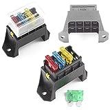 Caja de fusibles base de 4bloques de soporte para fusible de cuchilla estándar ATO/entrada