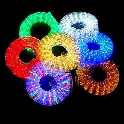 6m LED Lichtschlauch MULTICOLOR Prismeneffekt Ø 13mm von Dyntronic GmbH - Lampenhans.de