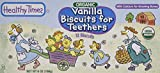 Healthy Times Organic Biscuits For Teethers Vanilla -- 6 oz