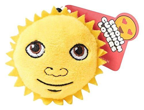 Love Bomb Kissen 0050Sunshine Emoji-Kissen Schlüsselanhänger