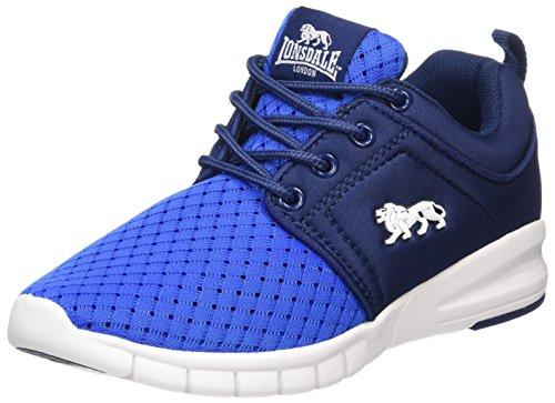 Lonsdale Jungen Sivas Outdoor Fitnessschuhe, Blau (Blue/Navy/White), 38 EU