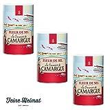 Le Saunier de Camargue Fleur de Sel 3 x 1000 Gramm