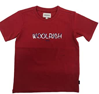 WOOLRICH T-Shirt Bambino Rosso WKTE0048MR