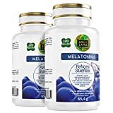 Melatonina - Ayuda a dormir - Valeriana - Tila - Sueño - Antioxidante - Sueño saludable - 240 cápsulas
