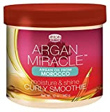 African Pride Crème Hydratation/Définition Boucles Argan Curly Smoothie 340 g