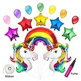 Meowoo Palloncini Unicorno, Palloncino per Calcestruzzo Unicorno per forniture kit palloncini compleanno party von