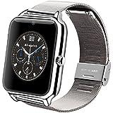 GreatCool mit Netzarmband Smartwatch Uhr Handy Unabhängige Armband Intelligente Uhren Unterstützung Facebook Twitter mit Bluetooth 3.0