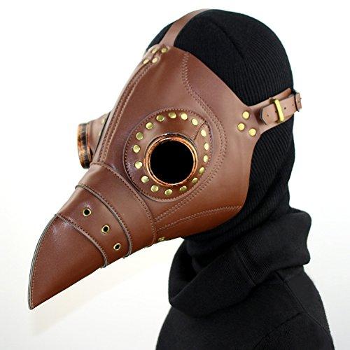 HWQ Halloween Steampunk Vogel Maskerade Maske Cosplay Bar Party Requisiten Geschenke