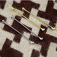 4 PCS 6.5CM Foulard Pin Tie clip Chiusura Spilla