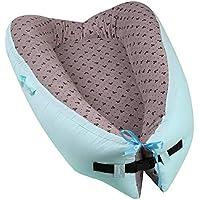 Luerme Cuna portátil Nido para bebés Múltiples funciones Aislamiento plegable Recién nacido Cama biónica para dormir