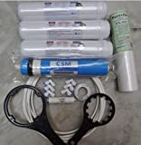 Luzon Dzire RO Complete SERVICE KIT With VONTRON 75 GPD Membrane For Water Filters/Purifiers