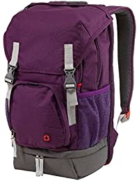 "Wenger 602659 Jetty 15.6"" Laptop Backpack, Padded laptop compartment with iPad/Tablet / eReader Pocket in Purple"