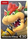 Nintendo eShop Carte cadeau 50 EUR - Code jeu à télécharger