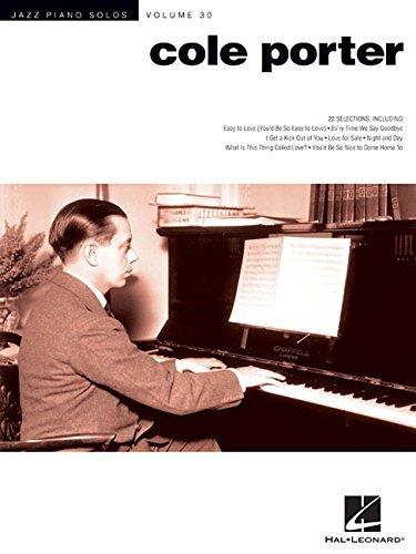 Cole Porter: Jazz Piano Solos Series Volume 30 by Cole Porter (Abridged, Audiobook, Box set) Paperback