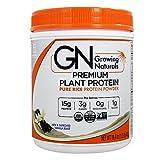 Growing Naturals - Scoppio organico della vaniglia della proteina del riso - 16.4 Once