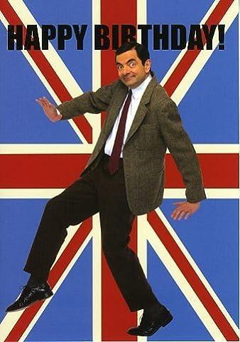 "Mr Bean ""Happy Birthday!"" Greeting Card"